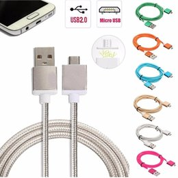 Wholesale Magnetic Charger Blackberry - 1m  3.3ft long charger automatic adsorption magnetic cable micro usb cable for Samsung android phones cargo magnet