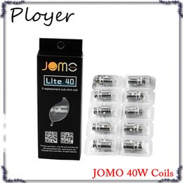 Wholesale Lite Replacement - JOMO Lite 40 Sub Ohm Coil Replacement Jomotech Cigarette Head Coil for Jomo Lite 40W Kit Jomo Tech Box Mod VS EC coil