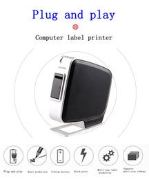 Wholesale Printing Coding Machine - Dymo label machine pnp up USB plug and play in English computer cable bar code printing paper LM PnP