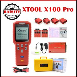 Wholesale Ecu Immobilizer - Factory price!!Xtool X100 Pro Auto Key Programmer X 100 Pro Original Version X100+ Updated Version X-100 Pro ECU&Immobilizer Programmer