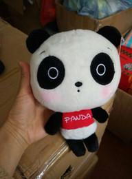 Wholesale M Lanyard - Sichuan Chengdu tourist souvenir doll panda rabbit plush toy doll lanyard m small gift