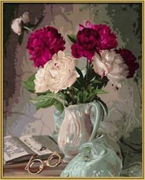 2019 pintura colorida do rosa Novo Diamante Bordado needlework diy Pintura diamante Kits de Ponto Cruz flor rosa colorida completa rodada diamante mosaico Decoração Do Quarto yx0388 desconto pintura colorida do rosa