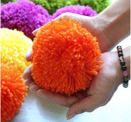 Wholesale Wool Ball Trimmer - Knitting Wool Pompom Ball Hats Caps Wool Ball DIY Collar Ball Shoes Hats Bags Gloves Balls