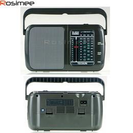 Wholesale Radio Broadcasting - Wholesale-Tecsun R-404 R404 High Sensitivity FM Radio MW SW Radio Receiver FM WM SW1 SW2 With Built-In Speaker Portable Radio Broadcast