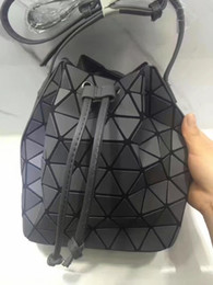Wholesale Material Shoulder Bags - Latest women shoulder bags matt material bucket new Beam mouth top quality backpack light multipurpose bags