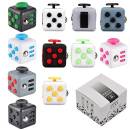 Wholesale Popular Science - Fidget Cube New Popular Decompression Toys the world's first American Decompression Anxiety EDC Desk Toy In stock DHL Free