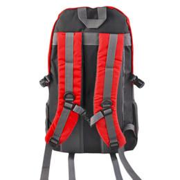 Wholesale Wholesale Orange Backpacks - HONG JING 40L Outdoor Mountaineering Bags Water Repellent Nylon Shoulder Bag Men And Women Travel Hiking Camping Backpack wholesale