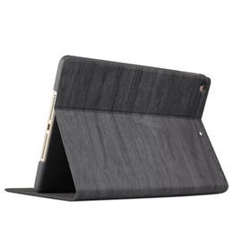 Wholesale Wood Ipad Case Wholesale - NEW Wood Series case Smart cover for ipad mini 1 2 3 4 ipad air 1 2 ipad pro 9.7 with cortex hard PC back case