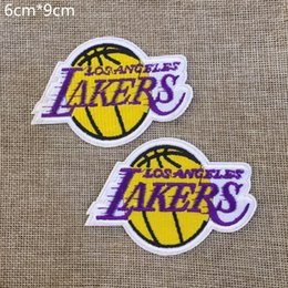 Wholesale Woven Patches Wholesale - 6cm * 9cm Football team Badge Iron on Patches of Stickers, Soccer team Woven Label Patch Wholesale, DIY Cloth Accessories