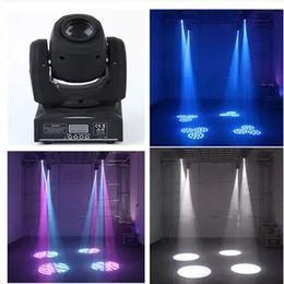 Wholesale Moving Head Disco Light - NEW 2pcs 30W LED Spot Moving Head Light USA Luminums dmx controller dj Spot Light dmx controller disco light moving head
