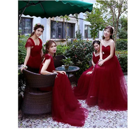 Wholesale Cheap Bridemaid Gowns Chiffon - 2017 Simple Design Many Colorrful Style Cheap Chiffon Tulle Evening Dress Bridemaid Gown Prom Party Gown Custom Made