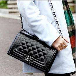 Wholesale Vintage Cotton Shoulder Bags For Women - 2018 Vintage Brand Fashion Handbags Women Bags Designer Handbags Wallets for Women Fashion Sheepskin Leather Chain Bag Shoulder Bags