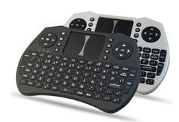 Canada Le clavier sans fil Rii I9 Smart Fly Air à distance de rétroéclairage i8 2,4 GHz est livré avec le contrôle du pavé tactile pour le boîtier télé MXQ M8S X92 Offre