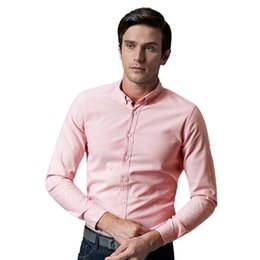 Wholesale New Stylish Clothes For Men - New Stylish Latest Men Business Casual Shirt Men Solid Shirt for Promotion Spring Autumn Long Sleeve Men Clothe