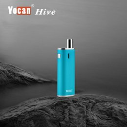 Wholesale New Wax Atomizer Glass - New Yocan Hive Starter Kit 2 Kinds Atomizer Wax 650Mah 12W 4.2V For Wax & Oil