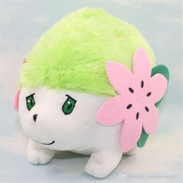 Wholesale Shaymin Plush - 8'' 20cm New Hot Plush Toys Poke Shaymin Doll Model Cute Stuffed Plush Doll Toys Collectible Kids Plush Action Figures