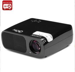 Wholesale Led Projektor Full Hd - Wholesale-3000Lumens Full hd beamer 1080p 2HDMI 2USB Portable LED TV Projector home video DVD 3D Projector proyector projektor projetor