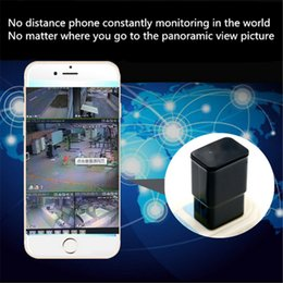 Wholesale Hidden Miniature Camera - WIFI miniature remote camera charging head of pinhole mini hidden camera No hole camera remote wireless monitoring