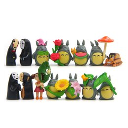 Wholesale Wholesale Kids Collectables - 2017 Wholesale 18 Styles set Cute Anime Totoro Various Type PVC Action Figure Collectable Model Toy For Kids Gift DIY Adult Figures S002