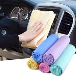 Wholesale Car Washing Brushes - High Quality Car Auto Wash Towel Super Absorption Cleaning Sponges Cloths Brushes Care Supplies Color Random JM-29