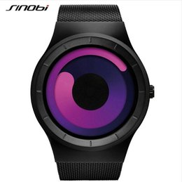 Wholesale Sinobi Sport - SINOBI Watch Men Watch Fashion Luminous Watches Unique Full Steel Sport Wrist watches Hour Clock relogio masculino reloj hombre
