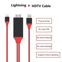 Wholesale Mini Projector Cable - Lightning to HDMI Cable Adapter, WEILIANTE Lightning Digital AV Adapter for iPhone iPad to Mirror on HDTV Projector - Plug and Play