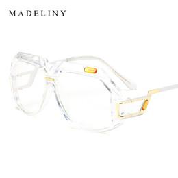 311898a91fd Wholesale- MADELINY Vintage Clear Lens Glasses Fashion Women Brand Designer  Eyeglasses Frames Men Fashion Glasses Optical MA407