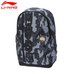 Wholesale Li Ning Basketball - Wholesale- Li-Ning Multifunctional Backpack Badminton Bag for 3 pieces Tennis Bag Trip Computer basketball series ABSL131 BBF213