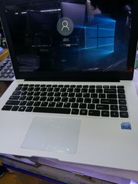 Wholesale New arrival inch laptops white black Plastic Shelll G GB Wifi Bluthooth windows high quality english version