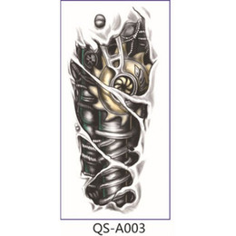 Wholesale tattoos arms designs - Wholesale-Individuality Design Waterproof Temporary Flower Arm Tattoo 1687520