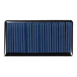 Caricabatterie online-Mising 68 * 37 * 3mm 5V 0.3W 60mA fai-da-te Mini Solar Power batteria a piastre a resina epossidica batteria Pannello solare caricabatterie
