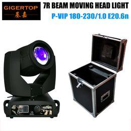 Wholesale Rams Head - TP-7R Original Moving Head Beam Light OS-RAM Bulb High Brightness Brand Cooling System Classical Screen 16CH Flightcase Packing