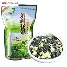 Wholesale organic jasmine flowers - C-LC023 Hot sale ! new Organic Jasmine Flower Tea jasmine scented Green tea 250g the tea Freeshipping mo li hua cha