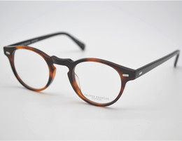 Wholesale Free People Women - Wholesale- Vintage optical glasses frame oliver peoples ov5186 eyeglasses Gregory peck for women and men eyewear frames FREE SHIPPING