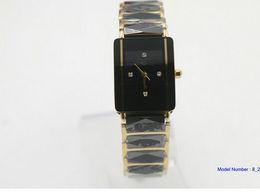 Wholesale Women Fashion Cheap Watches - cheap GIFT quartz black ceramic 18 mm CASE High quality Promotion fashion Stainless steel brand new women watch wristwatch woMens watches
