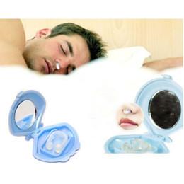 Wholesale Sleeping Aid Nose Device - 30Pcs Lot Anti-Snoring Anti Snore Free Nose Snoring Stop Stopper Clip Sleep Sleeping aid Device clip