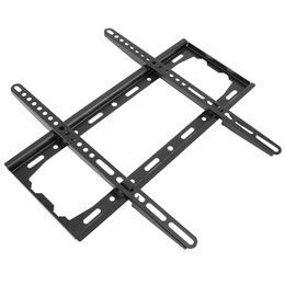 Wholesale Flat Monitors - Universal 45KG TV Wall Mount Bracket Fixed Flat Panel TV Frame for 26-55 Inch LCD LED Monitor Flat Panel HMP_60H