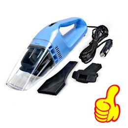 Wholesale 12v Portable Vacuum - Wholesale-2016 Factory Sale Car Vacuum Cleaner 12V 100W High Power Wet & Dry Cleaning Extend Suction Portable Handheld Dust Vacuum Cleaner