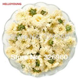 Tè del fiore del crisantemo online-Preferenza 50g cinese Specialità tisana Chrysanthemum Nuovo tè profumato Health Care Fiori Tea Top-Grade Healthy Green Food