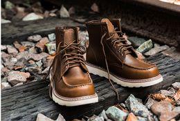 Wholesale Vintage Snow Boots - Martin boots, men's boots with vintage boots