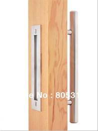 Wholesale Stainless Steel Door Knob Handles - Stainless Steel Barn Door Handle Pull&Wooden sliding door handle knob