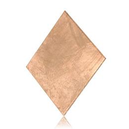 Wholesale Copper Plate Sheet - Wholesale- 10PCS Laptop Copper Sheet Plate Strip Shim Thermal Pad Heatsink Sheet 0.1mm 0.3mm 0.5mm 0.8mm For GPU CPU VGA Chip RAM Cooling