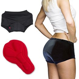 Wholesale bike bicycle cycling padded underwear - 2017 YKYWBIKE Women cycling underwear shorts bike bicycle Riding Sport clothing ropa ciclismo Breathable Cycling shorts Clothes Black Pad