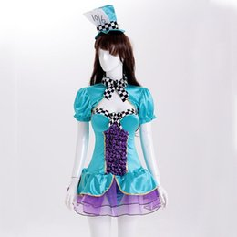 Wholesale French Halloween Costumes - Sexy lingerie French Maid Halloween Outfit Cosplay Fancy Dress Costume P4014 Size M L XL