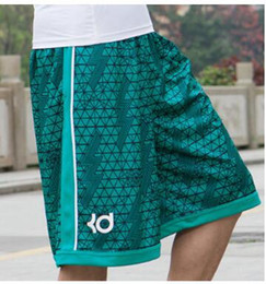 Wholesale Kd Orange Yellow - Basketballs Short Fashion 2016 Summer Brand KD Kevin Durant Hot Baggy Bermuda Male Loose Runs Men's Shorts Active Plus Size 3XL