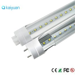 Wholesale Replacement Fluorescent Bulbs - factory stock sale LED T8 Tube 2ft 0.6m 12W 1100LM SMD 2835 tubes Light Lamp Bulb 2 feet 85-265V led lighting replacement within 3 year