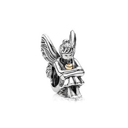 Wholesale High Quality Silver Charm Beads - High Quality Antique Silver Metal Beads Princess Matryoshka Doll Paris Forest Fairy Charms Fit Charm Bracelet DIY Jewelry