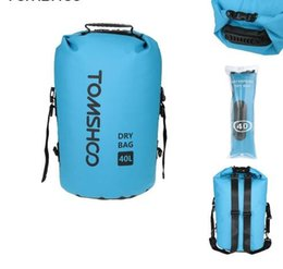 Wholesale Dry Bag Canoe Camping - 40L Outdoor Dry Bag Sack Water-Resistant Storage Bag for Rafting Boating Canoe Kayak Cycling Camping Equipment