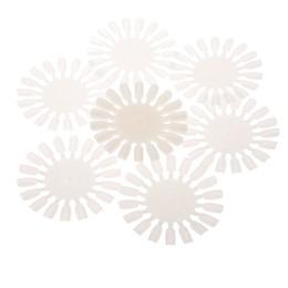 Wholesale Hot Sale False Nails - Wholesale- Hot Sale 10Pcs White False Nail Display Tips Practice Wheel Nail Polish Color Card Template