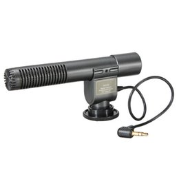 Wholesale Stereo Microphone For Camcorder - DV Stereo Shotgun Microphone For Canon Nikon Pentax Olympus For Panasonic DSLR and Camcorder DV SG-108